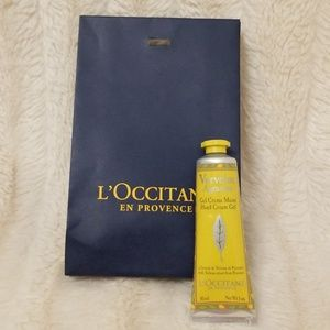 New L'Occitane 1oz hand cream - verveine agrumes